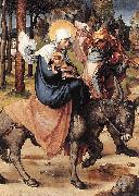 Albrecht Durer The Flight into Egypt oil painting reproduction