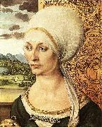Albrecht Durer Portrait of Elsbeth Tucher oil painting on canvas