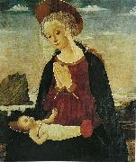 Alesso Baldovinetti Virgin and Child oil painting reproduction