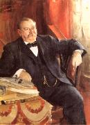 Anders Zorn President Grover Cleveland oil painting reproduction