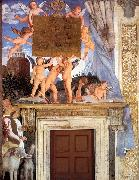 Andrea Mantegna Inscription with Putti oil painting reproduction