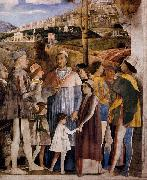 Andrea Mantegna The Meeting oil painting reproduction