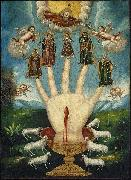 The All-Powerful Hand), or The Five Persons