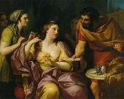 Semiramis Receives News of the Babylonian Revolt by Anton Raphael Mengs. Now in the Neues Schloss, Bayreuth