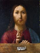 Antonello da Messina Christ Blessing oil painting reproduction