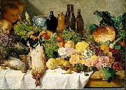 August Jernberg Still Life oil painting reproduction