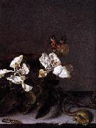Balthasar van der Ast Still-Life with Apple Blossoms oil painting artist