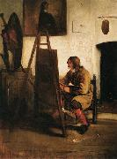Barent fabritius Young Painter in his Studio oil painting
