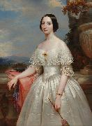 Painting of Maria Adelaide, wife of Victor Emmanuel II, King of Italy