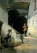 Carl Spitzweg Serenissimus oil painting reproduction