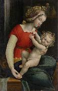 Defendente Ferrari Madonna and Child oil painting reproduction