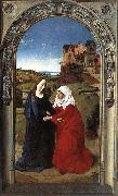 Dieric Bouts The Visitation oil painting reproduction