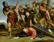 Domenichino The Way to Calvary oil painting reproduction