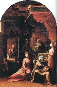 Domenico Beccafumi Birth of the Virgin oil painting reproduction