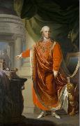Emperor Leopold II in the regalia of the