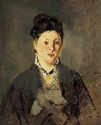Full-face Portrait of Manet's Wife