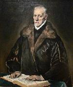 El Greco Portrait of Dr oil painting reproduction