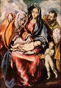 El Greco Hl. Familie oil painting reproduction
