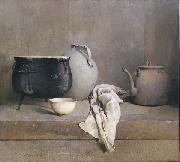 Emil Carlsen Study in Grey oil painting