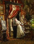 Emma Ekwall The Proposal oil painting reproduction