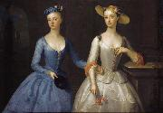 Lady Sophia and Lady Charlotte Fermor