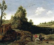 Esaias Van de Velde Landscape oil painting reproduction