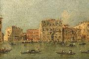 View of the Palazzo Loredan dell'Ambasciatore on the Grand Canal
