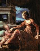 Francesco Parmigianino Virgin and Child oil painting reproduction