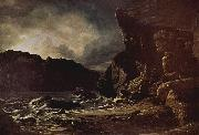 Francis Danby Liensfiord [possibly Lifjord, a part of Sognefjord oil painting