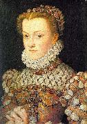 Elisabeth of Austria, Queen of France, daughter of Holy Roman Emperor Maximilian II. of Austria and Infanta Maria of Spain, wife of King Charles Charl