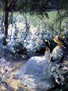 Frank Bramley Delicious Solitude oil painting