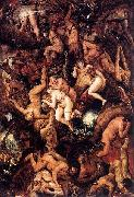 Frans Francken II The Damned Being Cast into Hell oil painting artist