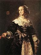 Frans Hals Portrait of Isabella Coymans oil painting reproduction
