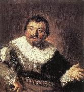Frans Hals Portrait of Isaac Abrahamsz. Massa oil painting reproduction
