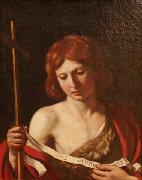 GUERCINO St John the Baptist oil painting reproduction