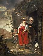 Gabriel Metsu The Dismissal of Hagar oil painting reproduction