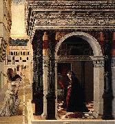 Gentile Bellini The Annunciation oil painting reproduction