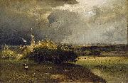 George Inness The Coming Storm oil painting on canvas