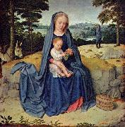 Gerard David The Rest on the Flight into Egypt oil painting reproduction