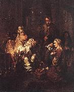 Gerbrand van den Eeckhout Presentation in the Temple oil painting artist