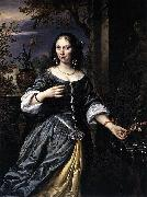 Govaert Flinck Portrait of Margaretha Tulp oil painting