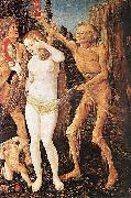 Hans Baldung Grien Three Ages of the Woman and the Death oil painting