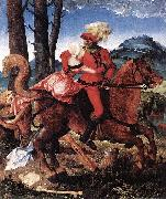 Hans Baldung Grien The Knight oil painting