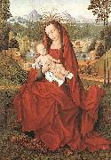 Hans Memling Virgin and Child oil painting reproduction
