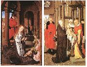Wings of the Adoration of the Magi Triptych