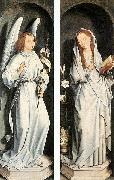 Hans Memling The Annunciation oil painting reproduction