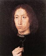 Hans Memling Portrait of a Man oil painting reproduction