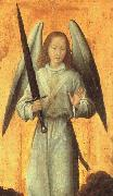 Hans Memling The Archangel Michael oil painting reproduction