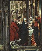 Hans Memling The Presentation in the Temple oil painting reproduction