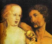 Hans holbein the younger Adam and Eve oil painting reproduction